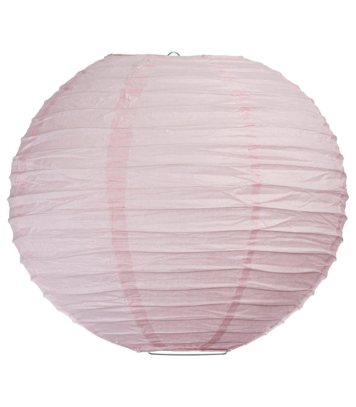 lanterne boule en papier couleur d35  luminaire