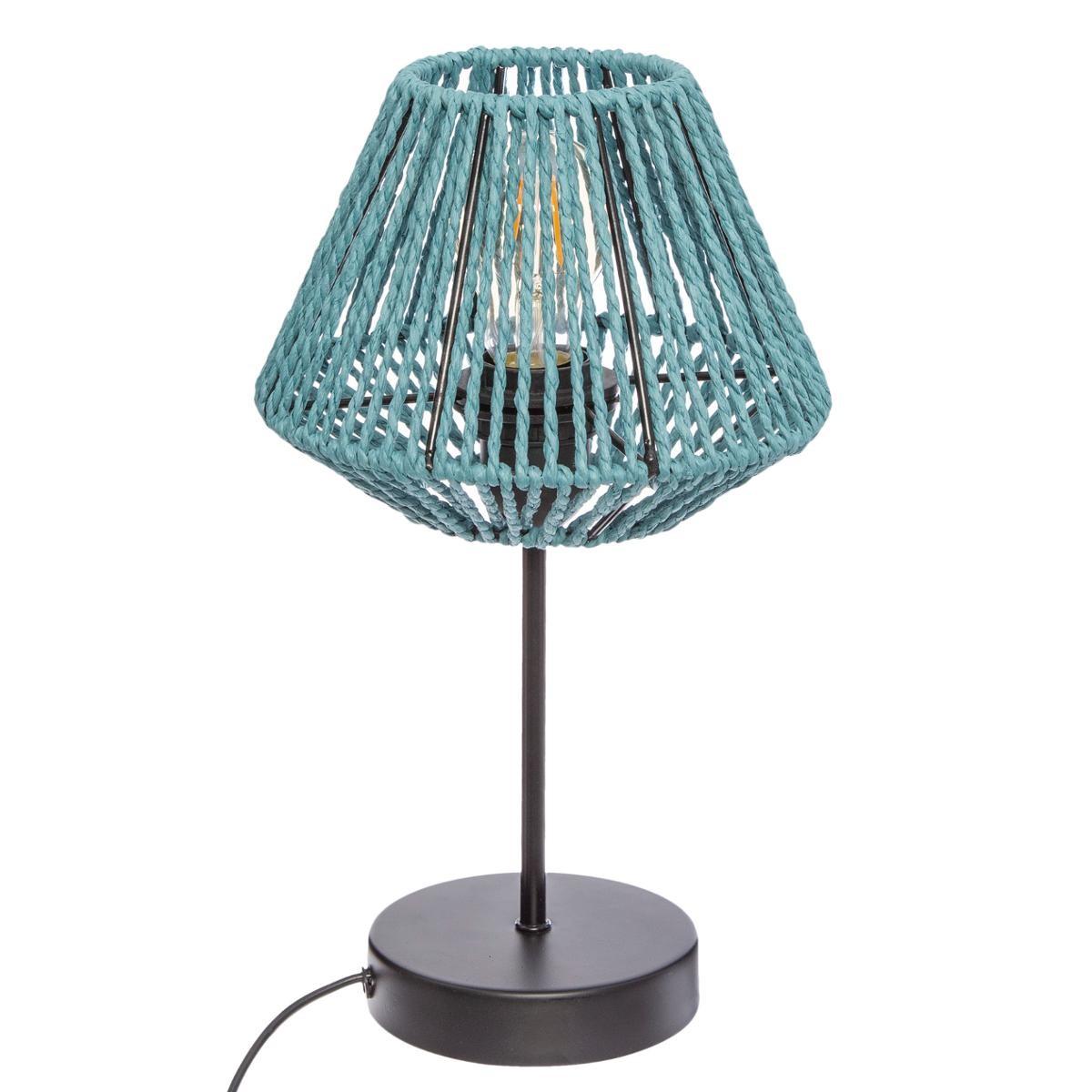 LAMPE JILY BLEU H34