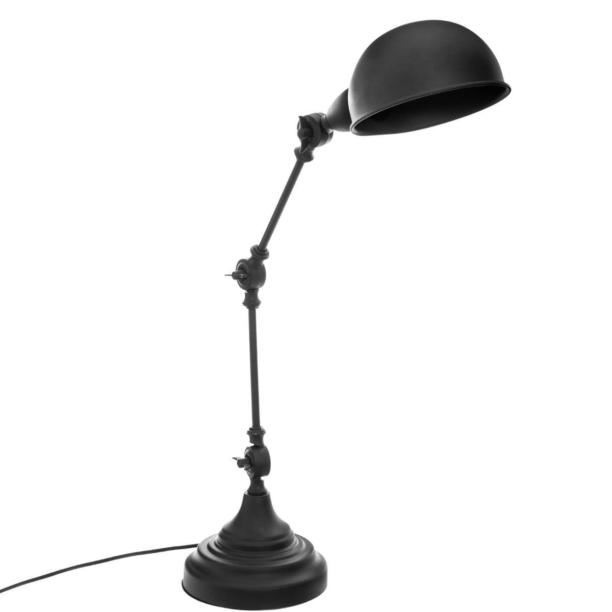 LAMPE ARCHITECTE BASALT NOIR H55