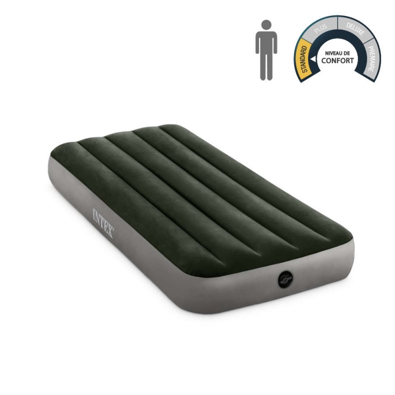Matelas gonflable simple INTEX 1P
