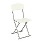 chaise-pliante-pvc-creme