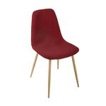 chaise-velours-rouge-roka