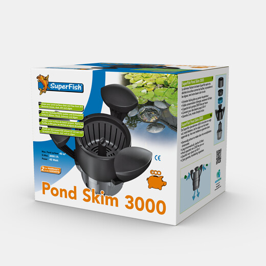 SuperFish Skimmer Pond Skim 3000