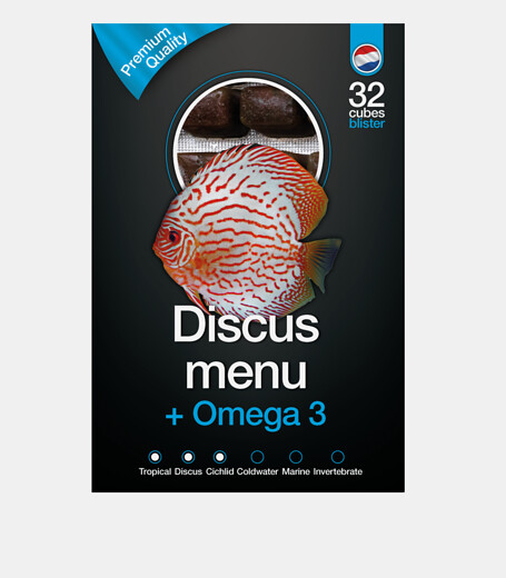 DISCUS MENU & Omega3 100 gr