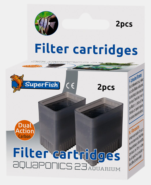 SuperFish Cartouche de filtration Aquaponics 23 2 pcs.