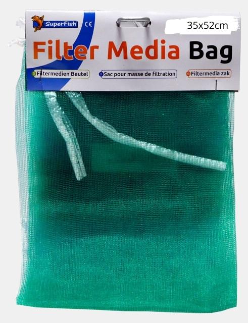 SuperFish Sac pour masse filtrante 35 x 52 cm grossier