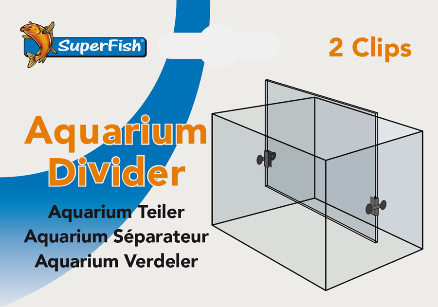 SuperFish Aquarium separation 2 piece