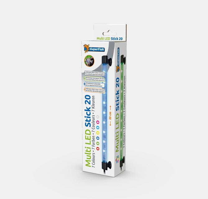 SuperFish Eclairage Multi LED stick - 2W 20cm