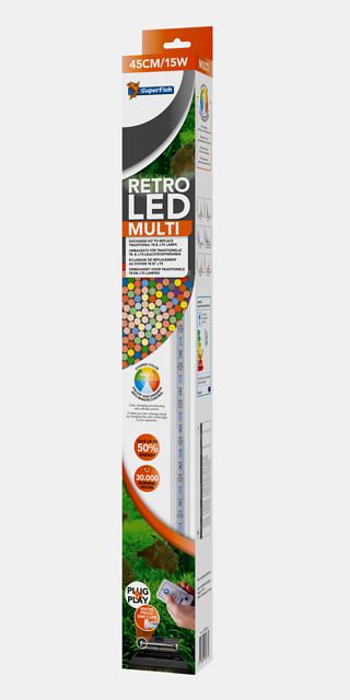 SuperFish Retro LED multi T5 - 24W 55cm