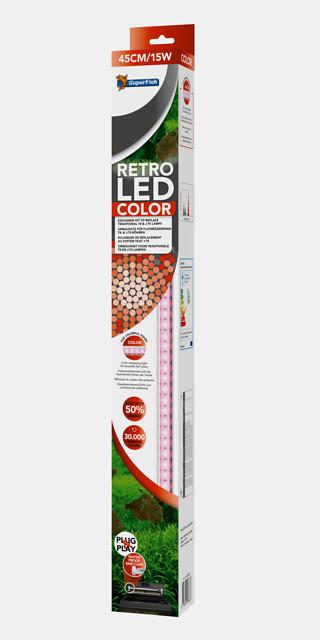 SuperFish Retro LED color T8 & JUVEL T5 - 36W 120cm
