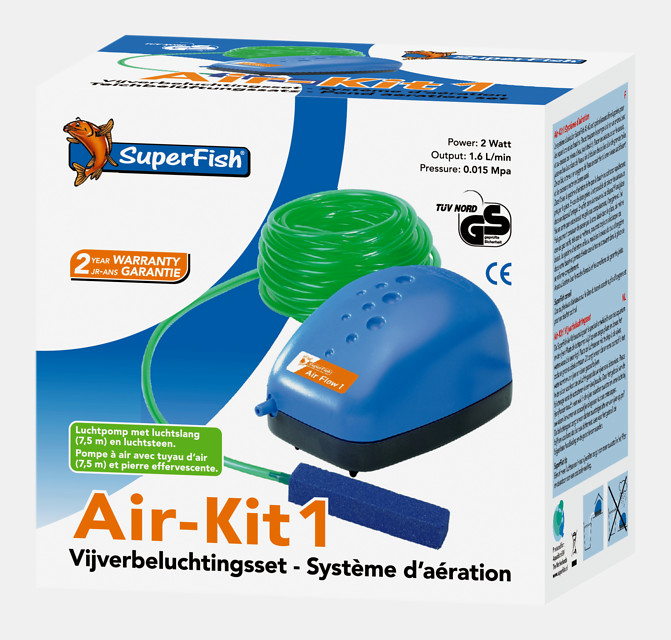 SuperFish Pond Air-Kit 1