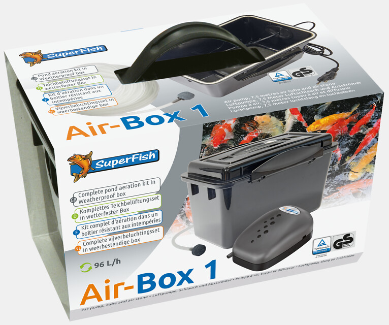 SuperFish Kit d\'aération Air-Box 1