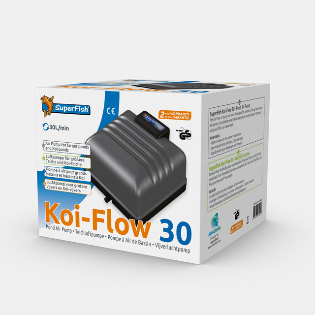 SuperFish Kit pompe à air Koi-Flow 30