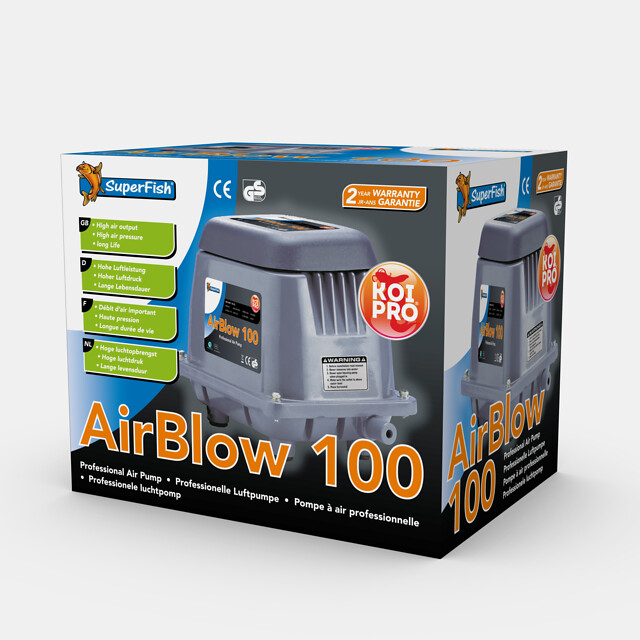 SuperFish Pompe à air AirBlow 100
