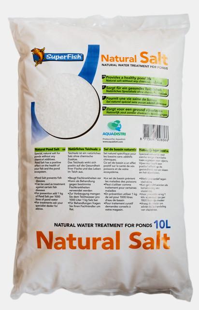 SuperFish Sel naturel 10L