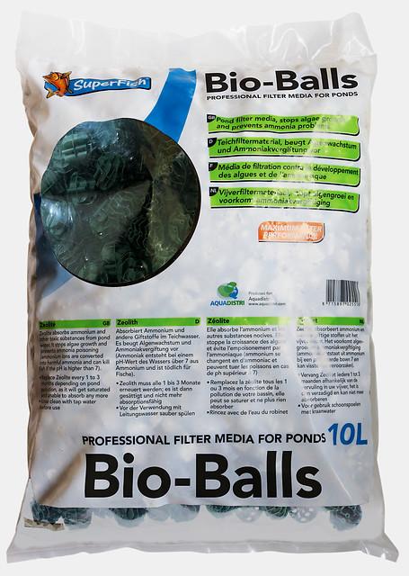 SuperFish Masse filtrante Bio Ball 10L