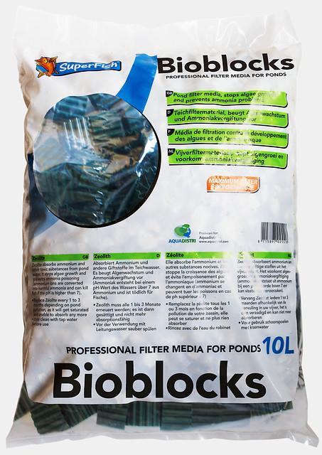SuperFish Masse filtrante Bioblocks 10L