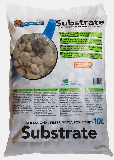 SuperFish Masse filtrante 10L