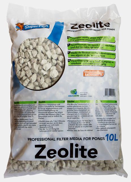SuperFish Masse filtrante Zéolite 10L