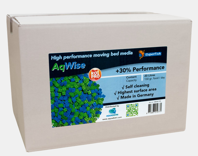 SuperFish Masse filtrante AqWise 20L