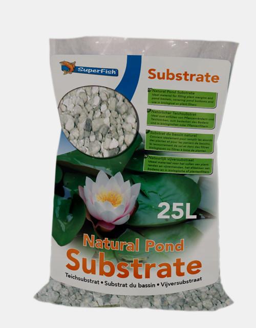 SuperFish Substrat de bassin 25L