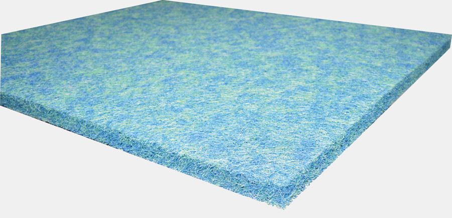 SuperFish Tapis japonaise 120x100x3,8cm bleu