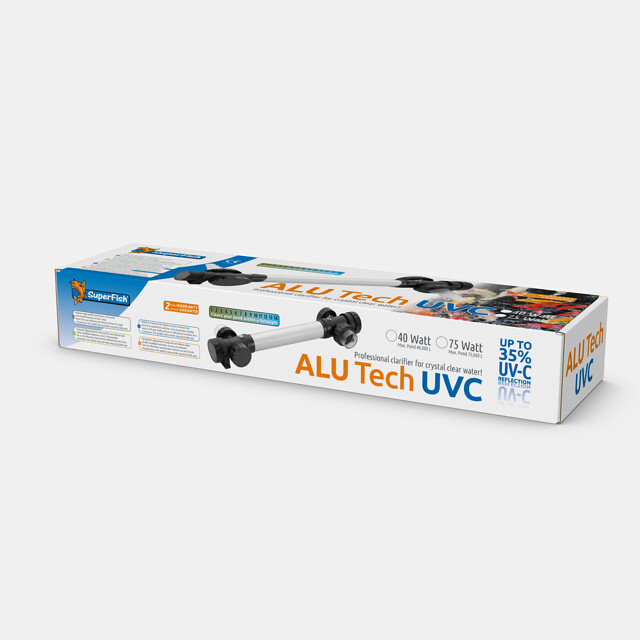 Superfish Stérilisateur UVC ALU Tech T5 40W
