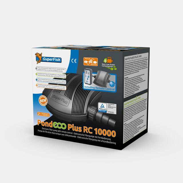 SuperFish Pompe + télécommande PondECO Plus RC 10000