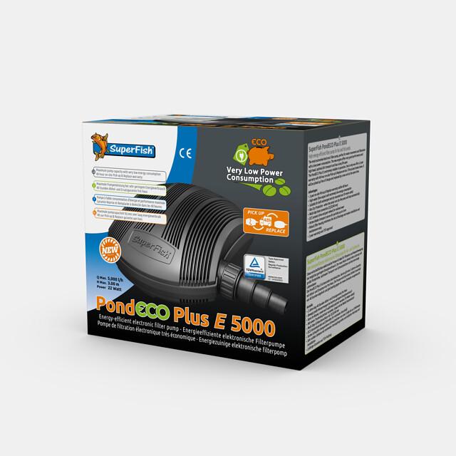 SuperFish Pompe PondECO Plus E 5000