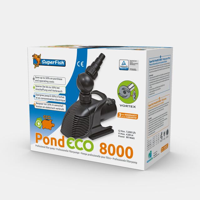 SuperFish Pompe PondECO 8000