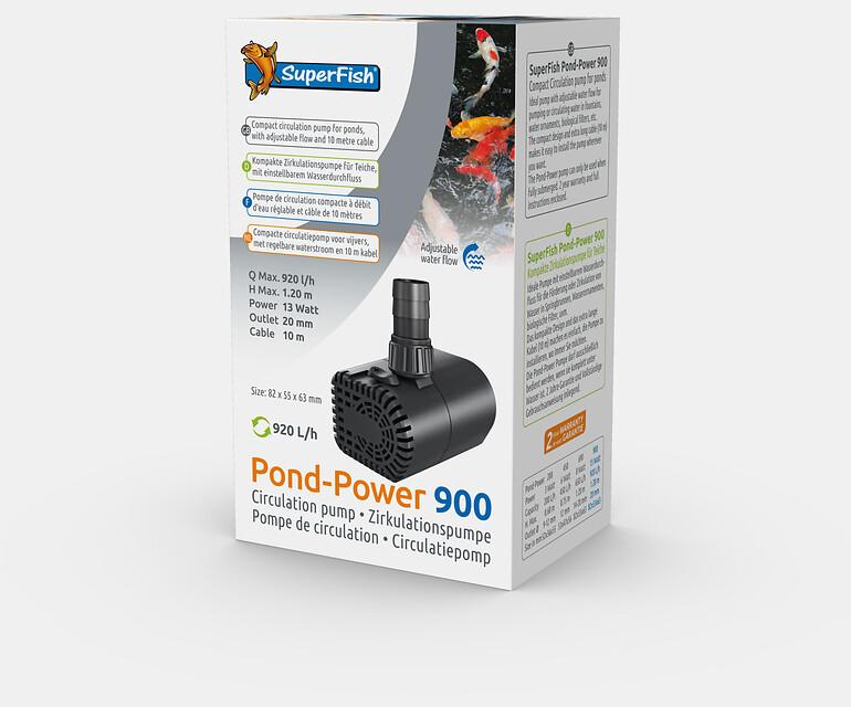 SuperFish Pompe Pond-Power 900