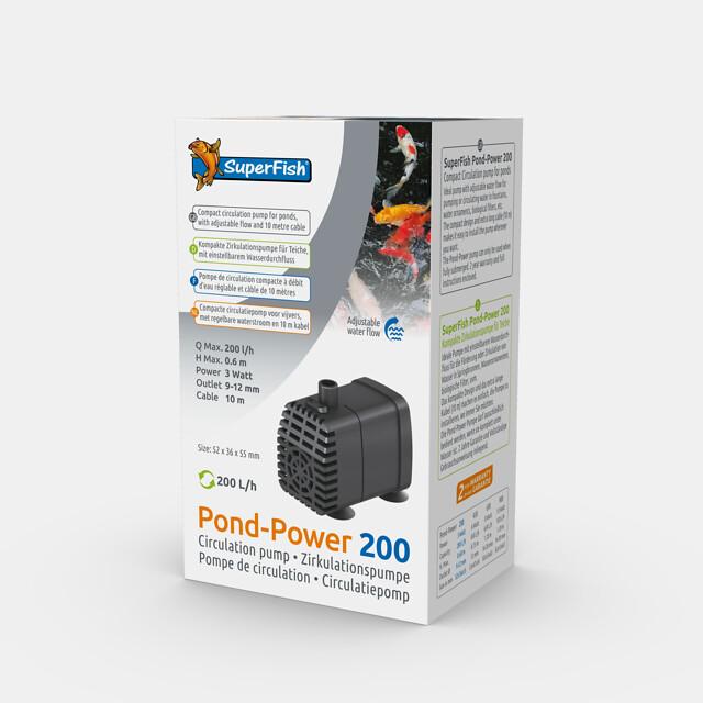 SuperFish Pompe Pond-Power 200