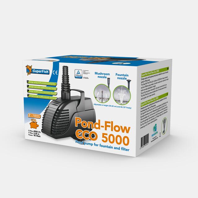 SuperFish Pompe Pond-FlowECO 5000
