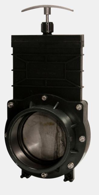 SuperFish Vanne guillotine PVC à collé Ø 110mm