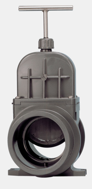VDL Vanne guillotine PVC à collé Ø 110mm