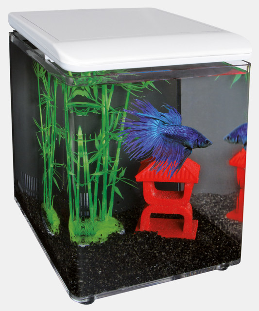 SuperFish Aquarium HOME 8 - Blanc