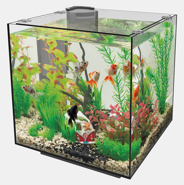 SuperFish Aquarium QUBIQ 30 - Noir
