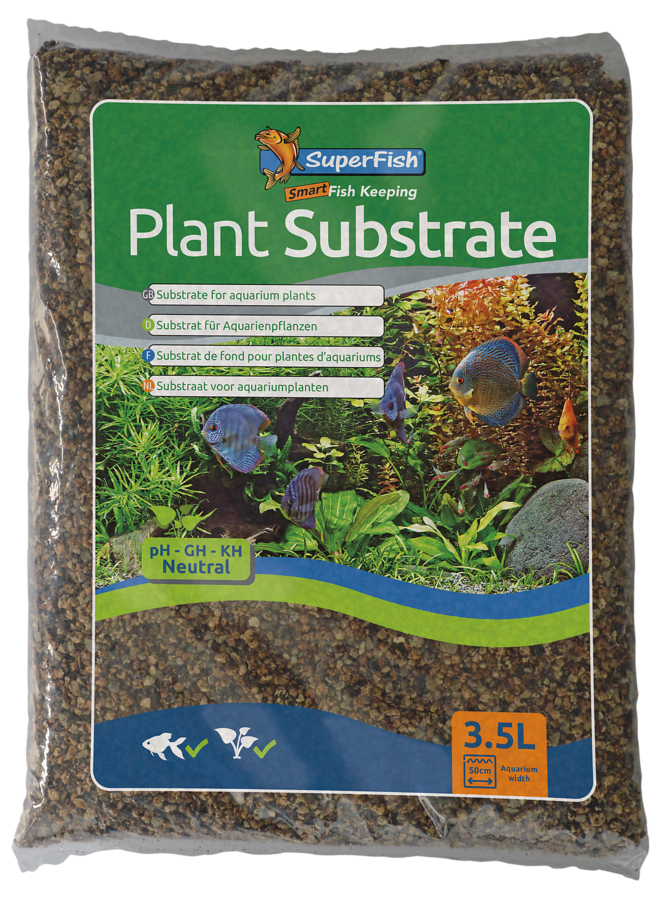 SuperFish Substrat de fond AQUA PLANTE - 3,5L
