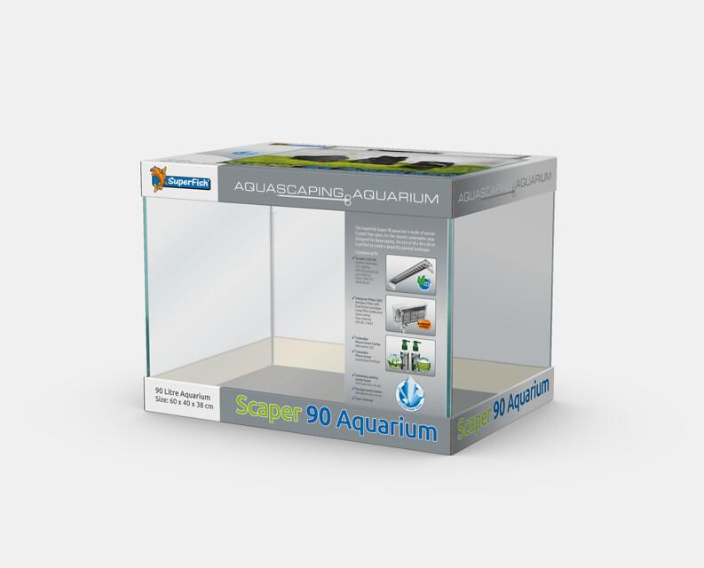 SuperFish Aquarium Scaper 90