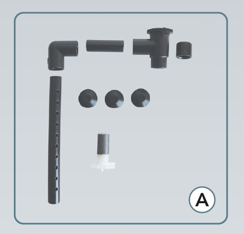 SuperFish Service kit de Aqua-Flow 50