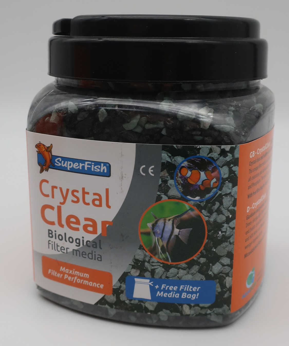 SuperFish Masse filtrante Crystal clear 1000 ml