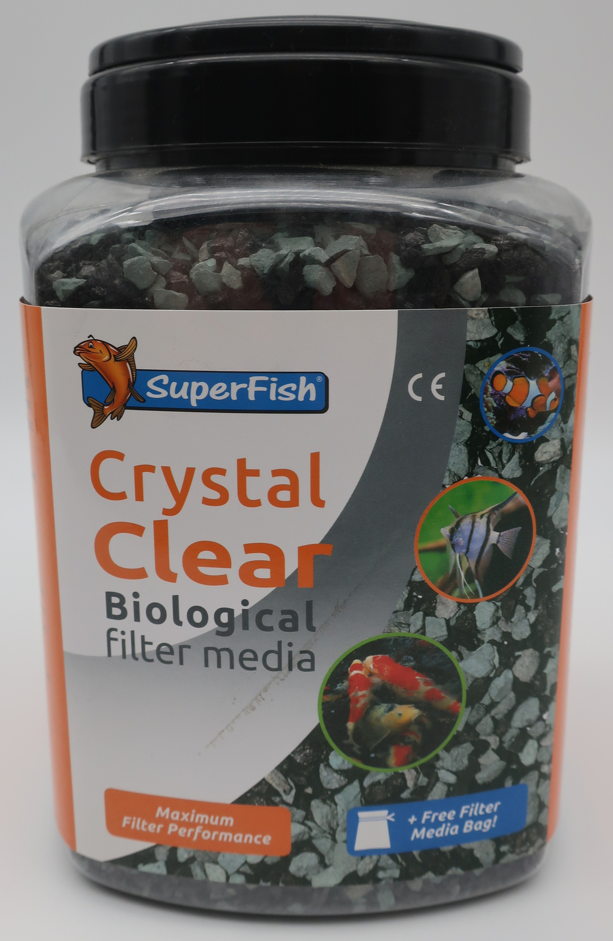 SuperFish Masse filtrante Crystal clear 2000 ml