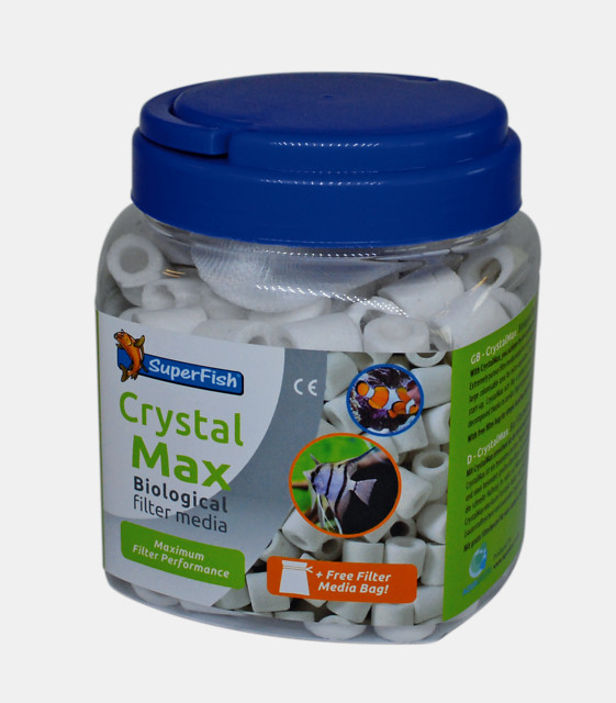 SuperFish Masse filtrante Crystal max 1000 ml