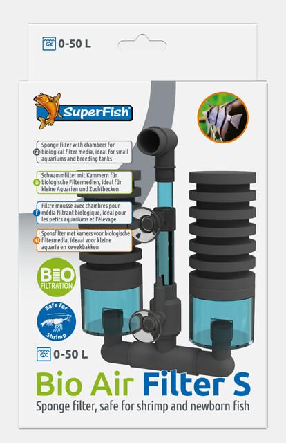 SuperFish Filtre exhausteur Bio Air Filter S