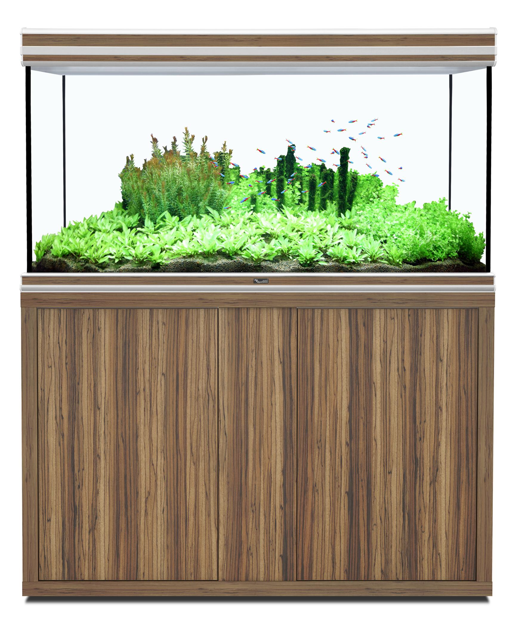 Aquatlantis FUSION 120 x 60 tout équipé Aquarium + Meuble
