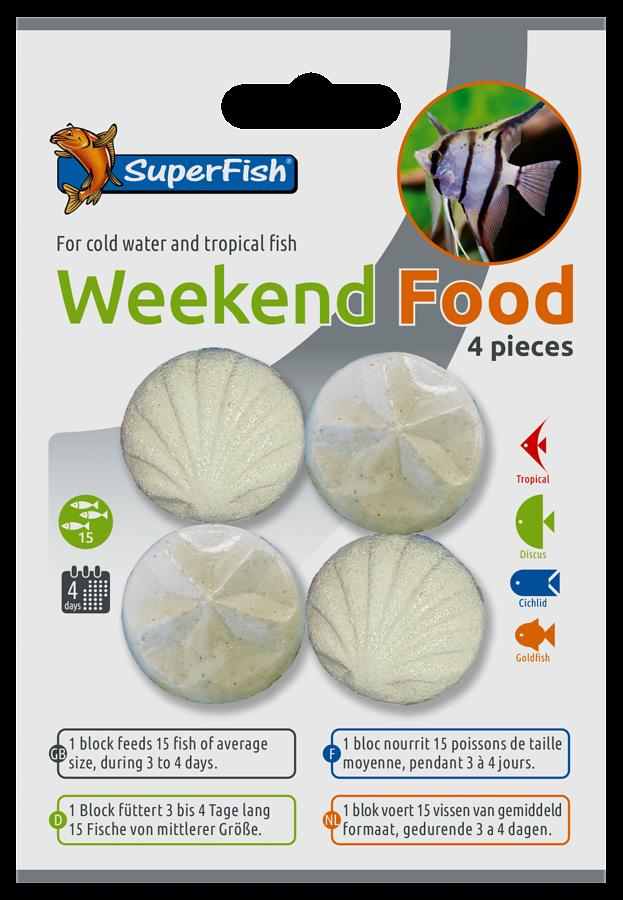 SuperFish Weekend Food - 4pcs.