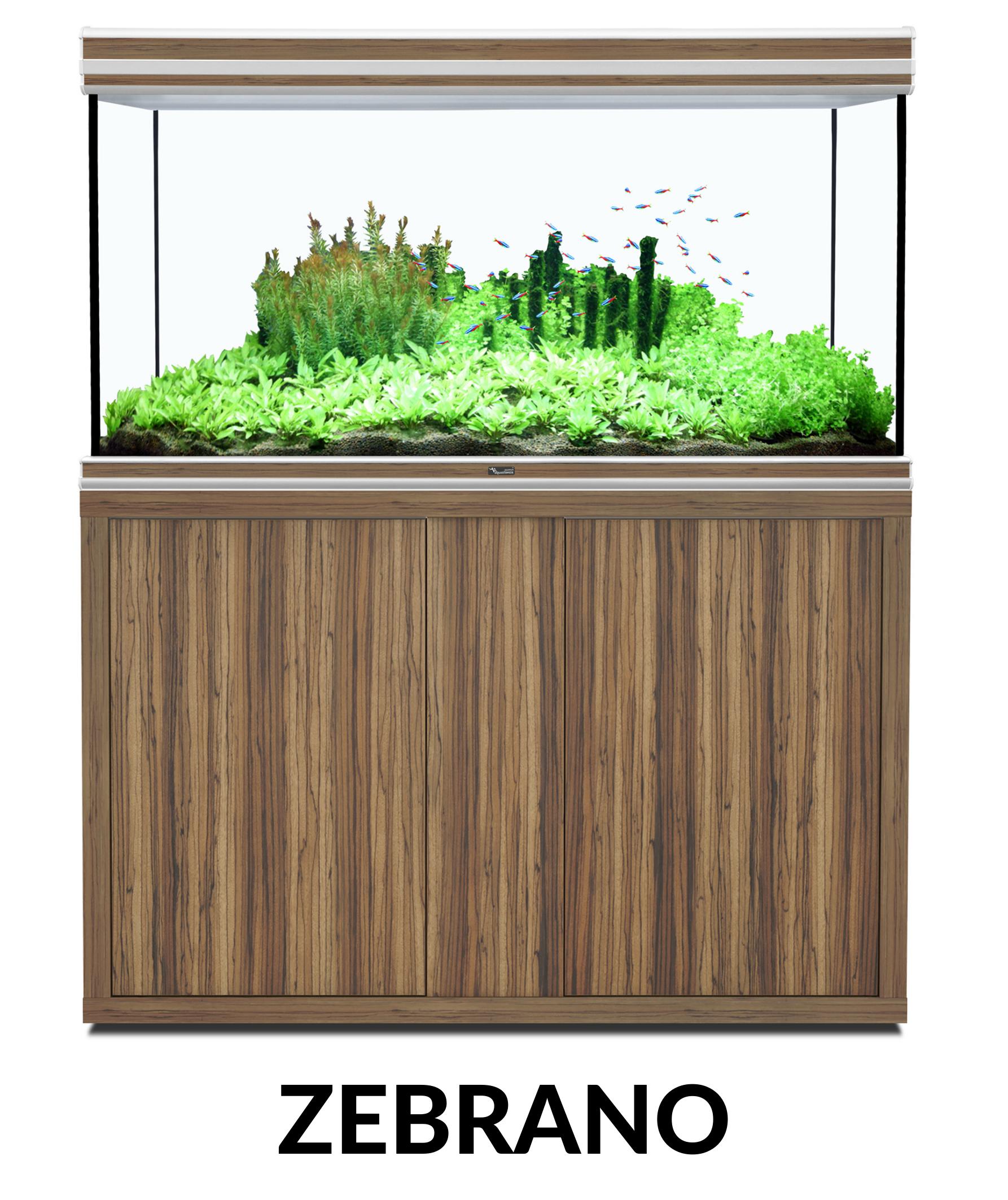 Aquatlantis FUSION 120 x 60 tout équipé Aquarium + Meuble + Filtre externe