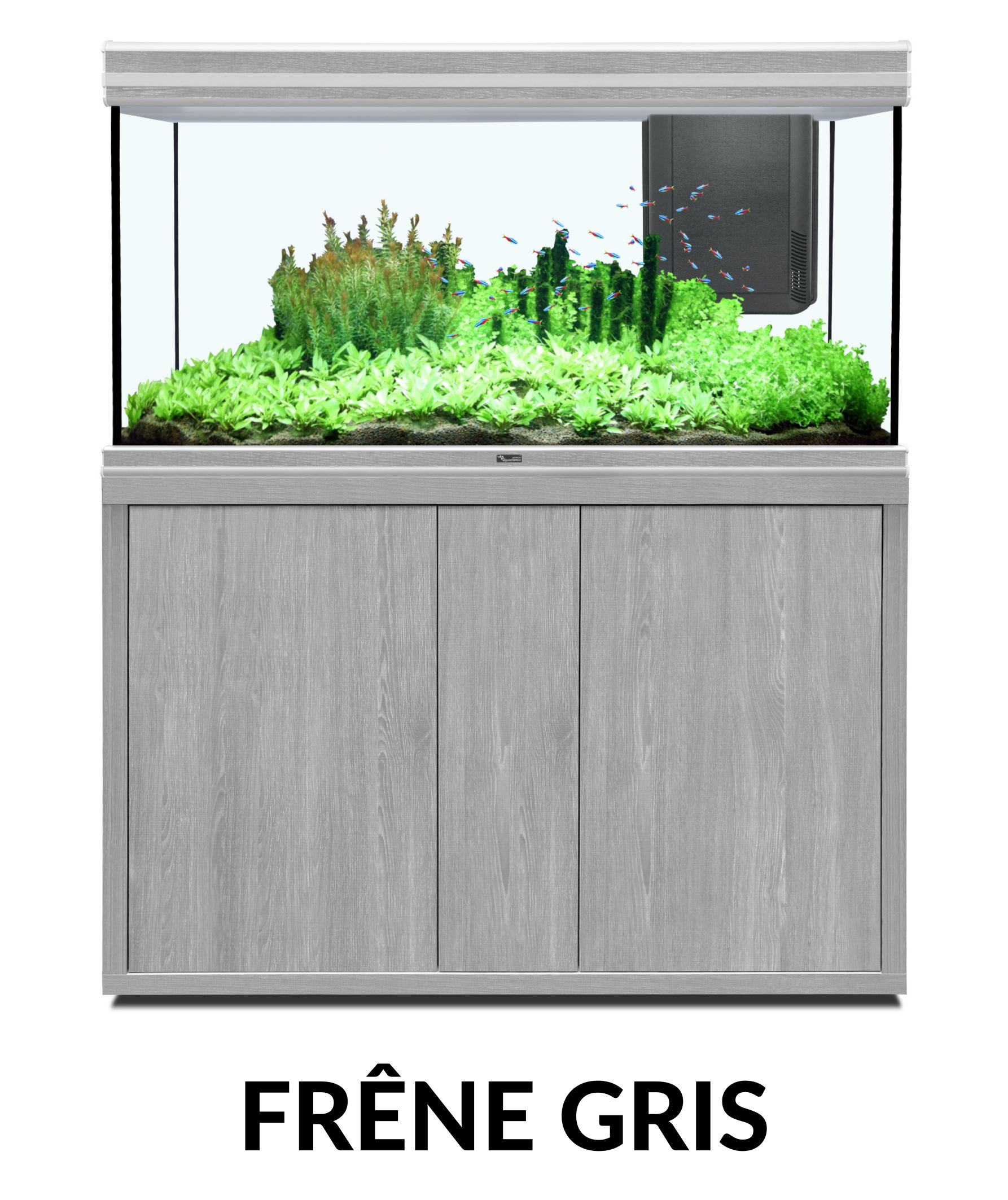 Aquatlantis FUSION 120 x 50 tout équipé Aquarium + Meuble + Filtre externe