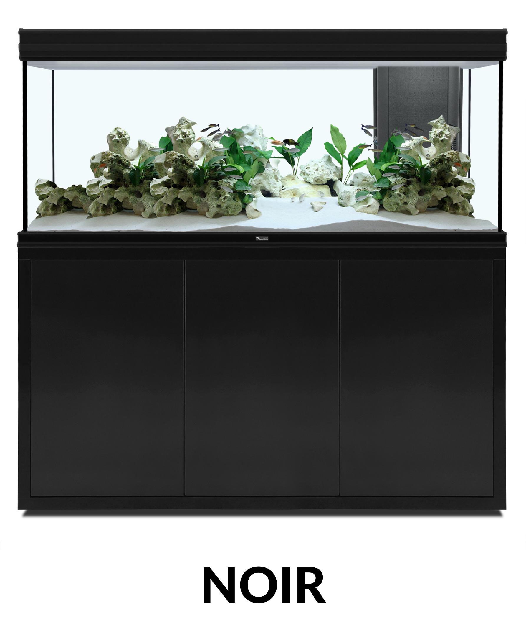 Aquatlantis FUSION 150 x 50 tout équipé Aquarium + Meuble + Filtre externe