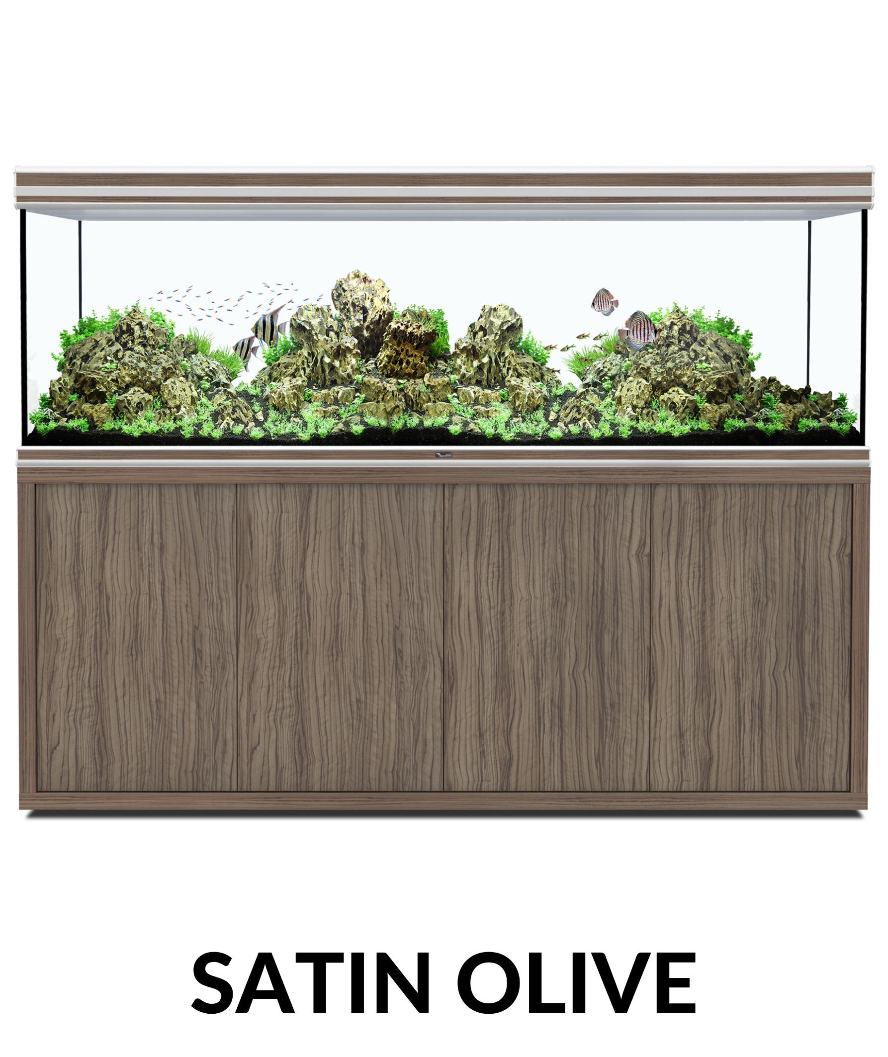 Aquatlantis FUSION 200 x 60 tout équipé Aquarium + Meuble + Filtre externe